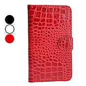 Krokodilleskinn mnster PU Leather Case for Samsung Galaxy Note 2 N7100 (Assorterte farger)