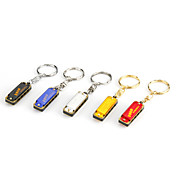 Swan - (SW4-2B) 4 Hole 8 Tone Mini Harmonica (Key Ring, Random-color)