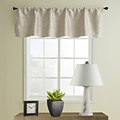 Classic Beige Tailored Valance