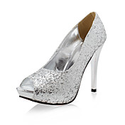 ABBY - Stiletto com Glitter Brilhante