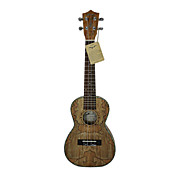Hanknn - (H23SM) Spalted Maple Concert Ukulele with Bag