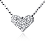 Gorgeous 18K Platinum With Diamond Women's Necklace