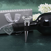Crystal Diamond Wine Stopper