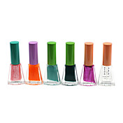 Regular Shining color de esmalte de uñas No.1-6 (4 ml, 6PCS)