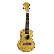 TOM - (TUC-10A) Laminated Ash Concert Ukulele with Bag