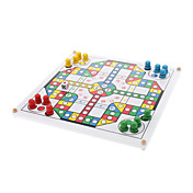 Parcheesi Snake Chess Ludo 2-4 People Game