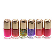 Regular exquisito esmalte de uñas No.1-6 (4 ml, 6PCS)