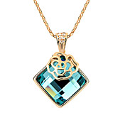 Lovely Alloy With Glass Women's Necklace (More Colors)