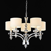 Modern Elegant Chandelier with 6 Spheral Lights