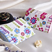 Spring Flower Guest Towels - Set of 12 Packs (More Colors)