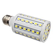 E27 9-10W 60x5050 SMD 1100LM 4000-4500K Natural White Light LED Corn Bulb (220-240V)