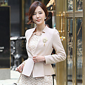 Women's Blazer with Brooch