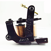 Handmade Tattoo Machine 10 Wrap Coils Gun Liner