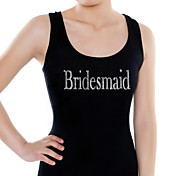 &quot;Brudepige&quot; Vest (Moer Farver, Flere strrelser)