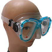 Nærsynthet Svømming Briller Professional Herdet Glass / Silikon / PC Dive Mask
