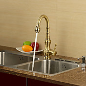 Antique Inspired Kitchen Faucet - Antique Bronze Finish
