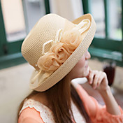 Women's Summer UV Lace Flower Flatcap
