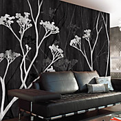 Botanical Branches Nature Mural