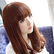 Nigger-Brown 60cm Casual Lolita Curly Wig