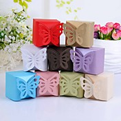 Butterfly Top Favor Box  Set of 12 (More Colors)