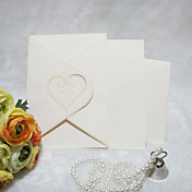 Simple Heart Wedding Invitation (Set of 50)