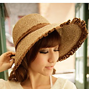 Women's Summer Lace Cording Bow Zonnehoed