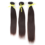 Brasiliansk Virgin Hair 18 Inch Curly Natural Color Machine Made wefts