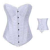 Simple Style Satin Classic Lolita Corset