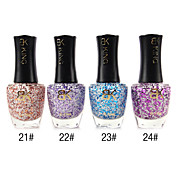 1PCS Top Coat Sequins Nail Polish No.21-24(17ml,Assorted Colors)