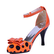 Stylish Patent Leather Stiletto Heel Sandals With Bowknot/Buckle Party / Evening Shoes(More Colors)