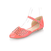 Patent Leather Flat Heel Closed Toe Sandals Party / Evening Shoes(More Colors)