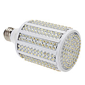 E26 18W 330-LED 1100-1200LM 3000-3500K Warm White Light LED Corn Bulb (85-265V)