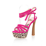 Amazing Suede Stiletto Heel Sandals With Lace-up Party / Evening Shoes(More Colors)