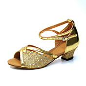 / Similicuir Ankle Strap femmes de Kid élégant latine / Ballroom Dance Shoes (plus de couleurs)