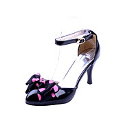 Fabulous Patent Leather Stiletto Heel Sandals With Bowknot/Buckle  Party / Evening Shoes(More Colors)