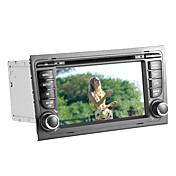 7 Inch Car DVD Player for Audi A4 (GPS, 3G/WiFi, Bluetooth, RDS, iPod)