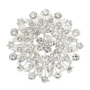 Amazing Alloy With Rhinestones Women's Brooch