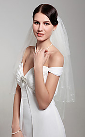 4 Layers Elbow Wedding Veil