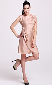 TS Bow Embellished Silk Dress