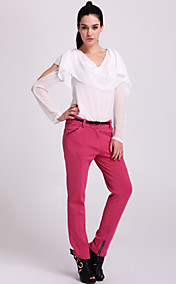 TS Zipper Finish Knitted Trouser Pants (More Colors)