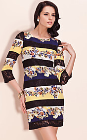 TS Lace Color Block Dress (More Colors)