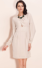 TS Bubble Sleeve Cut Out Dress