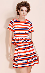 TS Bird Striped Dress