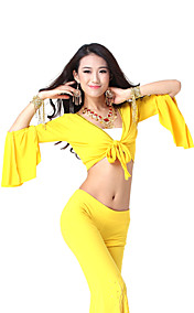 Dancewear Crystal Cotton Dance Top for Ladies More Colors