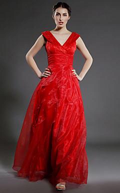 ELLE - Vestido de Damas em Organza e Cetim