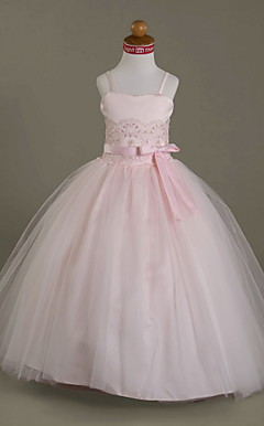 BISERKA - Robe de Communion Satin Tulle