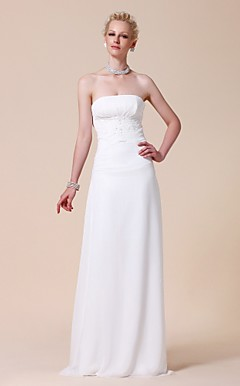 YILDIZ - Abito da Sposa in Chiffon