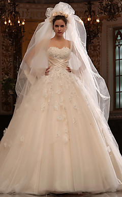 Plus-Size Wedding Dress | Spring 2013 ElegantPlus.com Editor's Pick, Sizes 0-26W