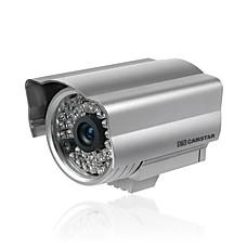 venta al por mayor cámara impermeable con CCD color fuerte + ir + 40m adaptador de CA