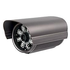 venta al por mayor 480tvl 1 / 3 de pulgada sony color ccd ir impermeable 50m distancia con cable adaptador de CA con cámara